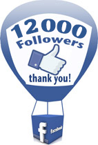 12000 Followers on Facebook